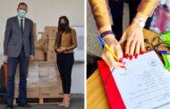 Προσφορά υλικού για τις ανάγκες του Κέντρου Κοινωνικής Πρόνοιας Θεσσαλίας