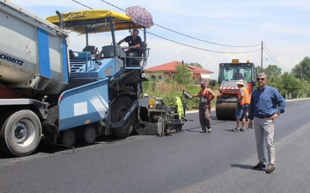 Βελτιώνει την οδική ασφάλεια στο δρόμο Νεράιδα – Τριφύλλα η Περιφέρεια Θεσσαλίας