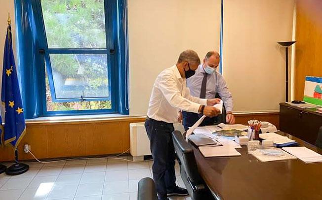 Σε Υπουργεία στην Αθήνα ο Περιφερειάρχης Θεσσαλίας Κώστας Αγοραστός για να τρέξουν γρήγορα οι αποζημιώσεις του Ιανού