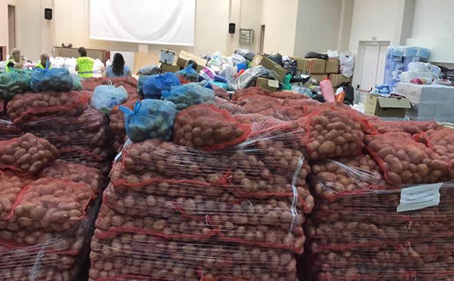 Συγκινητική η ανταπόκριση Δήμων, Τοπικών Κοινοτήτων, συλλόγων και φορέων στους πληγέντες του Δήμου Μουζακίου