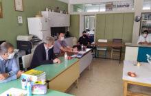 Συνάντηση για το κρούσμα κορωνοϊού στο 2ο Δημοτικό Σχολείο Σοφάδων