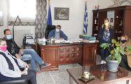 Το Δ.Σ. του Συλλόγου Γονέων και Κηδεμόνων Δημοτικού και Νηπιαγωγείου Πύληςστον Δήμαρχο Πύλης Κωνσταντίνο Μαράβα