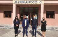 Συνάντηση του Γενικού Δ/ντη της ΕΔΑ ΘΕΣΣ με τον Δήμαρχο Μουζακίου