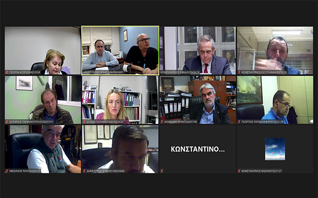 Συνεδρίασε με τηλεδιάσκεψη την Τρίτη 26/10/2020 το Περιφερειακό Επιμελητηριακό Συμβούλιο Θεσσαλίας