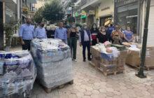 Προσφορά αλληλεγγύης στους πλημμυροπαθείς της επαρχίας Φαρσάλων