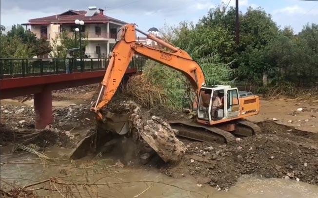 Καθαρισμός του ποταμού Γάβρα από την Π.Ε Καρδίτσας