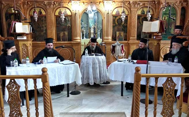 Ιερατικό Συνέδριο στον Ι.Ν. Κοιμήσεως της Θεοτόκου Μουζακίου