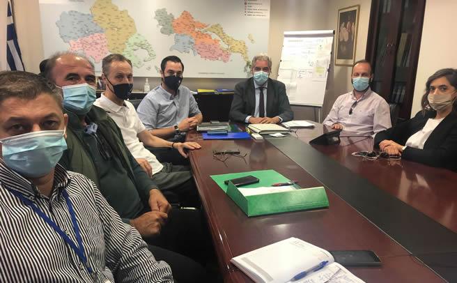 Συνάντηση του Δημάρχου Μουζακίου με την 5η ΥΠΕ για την ανέγερση Κέντρου Υγείας στο Μουζάκι