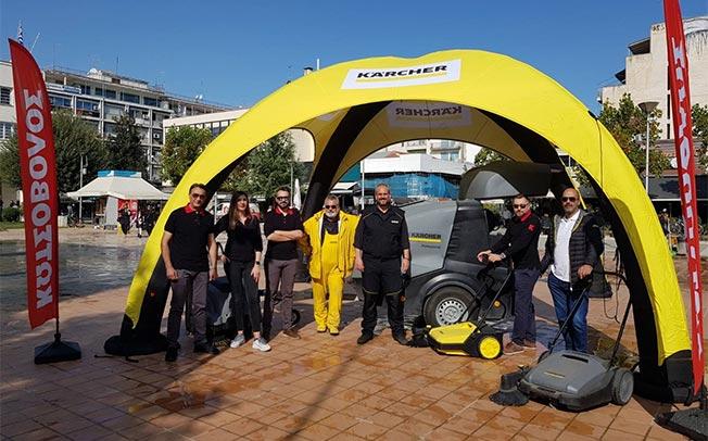 Η Κωτσόβολος και η Kärcher στηρίζουν τον Δήμο Καρδίτσας για τον καθαρισμό της πόλης
