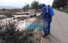 Ολοκληρώθηκε η κουνουποκτονία στις πληγείσες περιοχές του Δήμου Μουζακίου