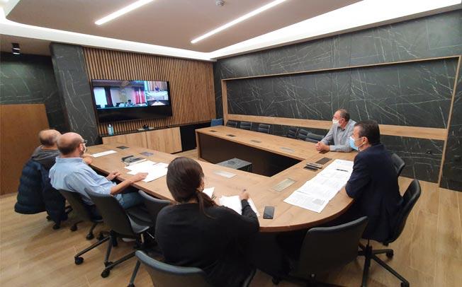 Συνεδρίασε η αρμόδια Ομάδα Διοίκησης Έργου της Περιφέρειας Θεσσαλίας