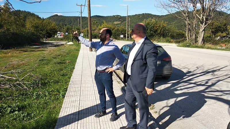 Συνάντηση του Υπουργού Δικαιοσύνης κ. Τσιάρα με το Δήμαρχο Μουζακίου κ. Στάθη στο Μουζάκι