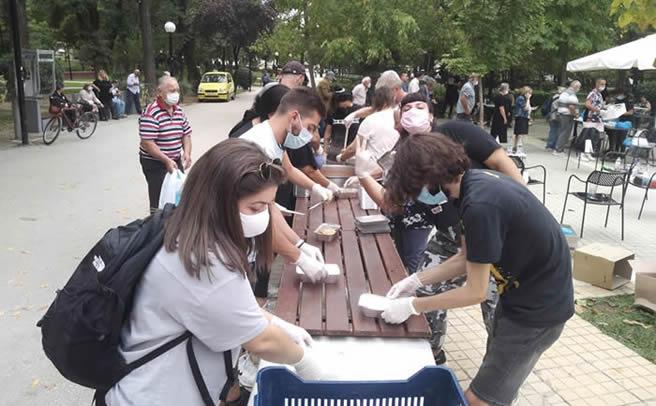Η «Συνύπαρξη» βοηθά τους πληγέντες στην Καρδίτσα