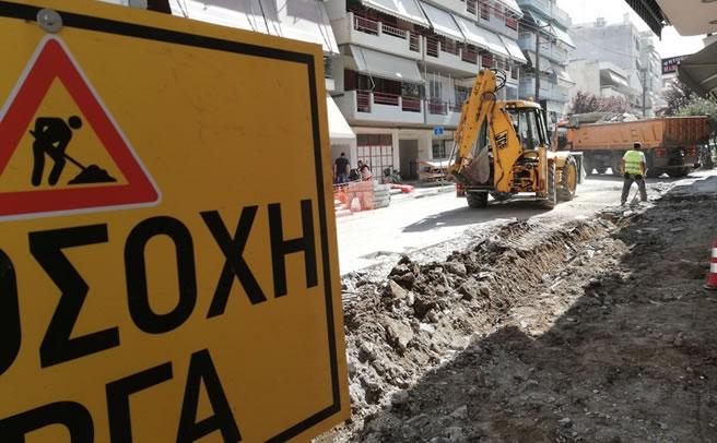 Τρίκαλα: Κλειστοί δρόμοι για την υπερυψωμένη διάβαση στη Μαυροκορδάτου & Βούλγαρη
