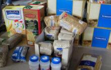 Διανομή βοήθειας σε πλημμυροπαθείς στις περιοχές Καμινάδων, Εργατικά και Ζαχαριώτες