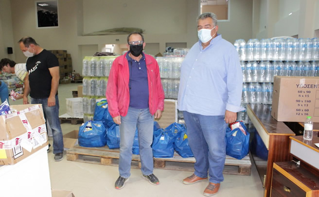 Ο Δήμος Πύλης δίπλα στους πληγέντες του Δήμου Μουζακίου