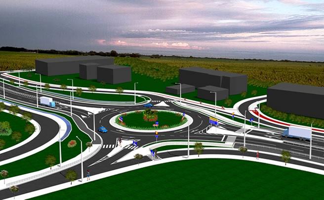 Αλλάζει όψη η είσοδος της Καρδίτσας με 6 χλμ κύριας διπλής οδικής αρτηρίας, 6,5 χλμ παράπλευρο οδικό δίκτυο και 5 κόμβοι