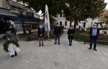 Κατάθεση στεφάνου για την επέτειο του Πολυτεχνείου από αντιπροσωπεία του ΣΥΡΙΖΑ – ΠΣ Ν.Καρδίτσας
