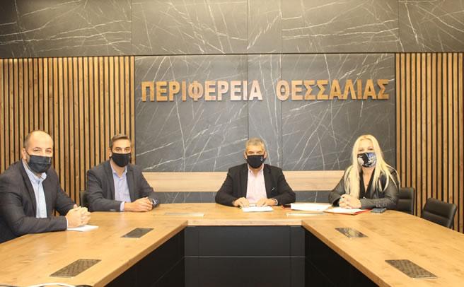 Δύο νέες συμβάσεις για έργα στην ΠΕ Μαγνησίας και Σποράδων υπέγραψε ο Περιφερειάρχης Θεσσαλίας Κώστας Αγοραστός