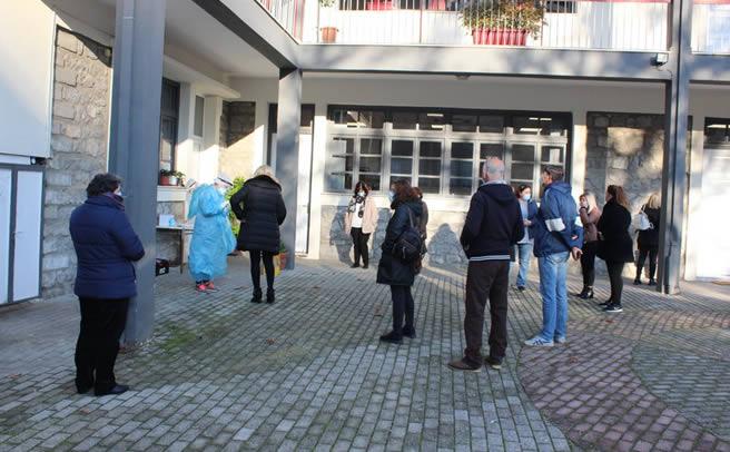 Δειγματοληπτικός - Μοριακός Έλεγχος για τον Covid 19 σε εργαζόμενους και υπαλλήλους του Δήμου Πύλης