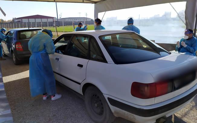 Αρνητικά όλα τα rapid tests στην ΤΚ Καρποχωρίου