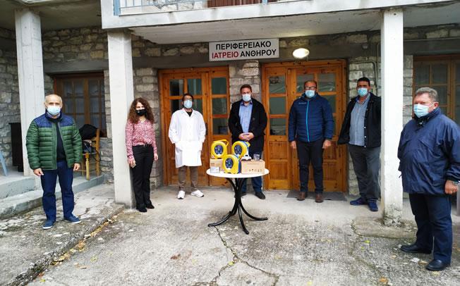 Προσφορά τριών απινιδωτών από το Δήμο Αργιθέας στα ΠΙ Ανθηρού Βραγκιανών και Πετρίλου