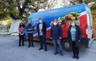 Δωρεά τροφίμων στο Δήμο Αργιθέας από το Ίδρυμα «Σταύρος Νιάρχος»