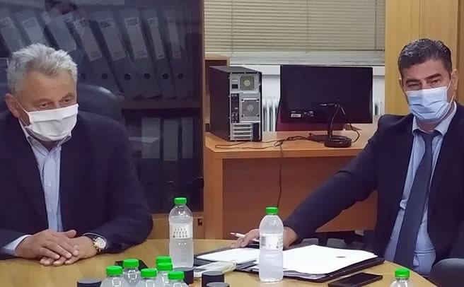 Συνάντηση αντιπροέδρου του ΕΛΓΑ με τους Δημάρχους της ΠΕ Καρδίτσας