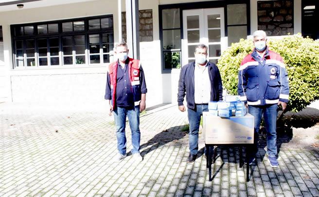 Υγειονομικό υλικό παρέδωσε ο Δήμαρχος Πύλης κ. Μαράβας στον Τομέα του ΕΚΑΒ Πύλης