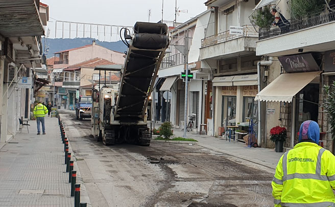 Κυκλοφοριακές ρυθμίσεις λόγω ασφαλτοστρώσεων εντός του Μουζακίου μέχρι την Παρασκευή 20/11