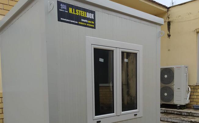 Δωρεά μεταλλικού οικίσκου στο Δήμο Μουζακίου, για τις ανάγκες του Κέντρου Υγείας