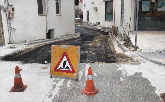 Κυκλοφοριακές ρυθμίσεις εντός του Μουζακίου λόγω εργασιών από σήμερα Δευτέρα 09/11