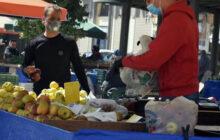 Συμμετέχοντες στην λαϊκή αγορά των Σοφάδων το Σάββατο 14/11/2020