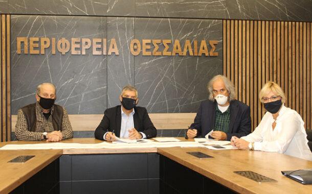 Υπογράφηκε η σύμβαση για τη μελέτη της παράκαμψης του οικισμού των Σοφάδων