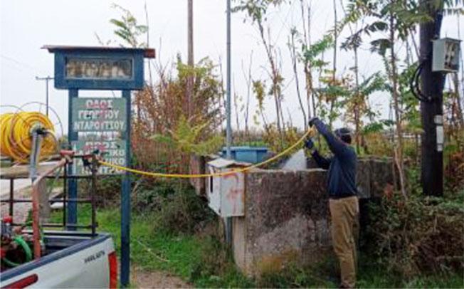 Ολοκληρώθηκε στα χωριά του Δήμου Καρδίτσας και ο δεύτερος κύκλος ψεκασμών