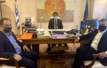 Συναντήσεις Αγοραστού και Τσιάκου με κυβερνητικά στελέχη με στόχο την αποκατάσταση των καταστροφών
