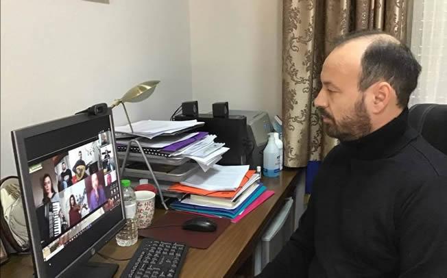 Διαδικτυακά τα κάλαντα στον Δήμαρχο Μουζακίου, από τους καθηγητές του Δημοτικού Ωδείου Μουζακίου