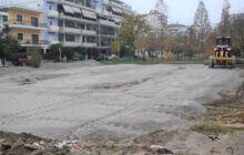 Καρδίτσα: Εργασίες συντήρησης και διαμόρφωσης σε χώρο στάθμευσης επί της Παλαιολόγου