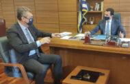 Σύσκεψη Γ. Κωτσού με Κ. Σκρέκα: Στο επίκεντρο ενισχύσεις κτηνοτρόφων - Επιλαχόντες Σχεδίων Βελτίωσης - Αρδευτικά Δίκτυα ν. Καρδίτσας