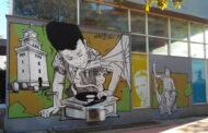 Graffiti του Same84 στο Πνευματικό Κέντρο του Δ. Τρικκαίων
