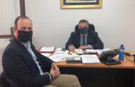 Συνάντηση Δημάρχου Μουζακίου με τον νέο Υπουργό Αγροτικής Ανάπτυξης