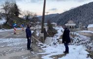 Σε Αθαμανία και Περτούλι Αγοραστός και Μιχαλάκης για τις ζημιές που προκάλεσε ο «Λέανδρος»