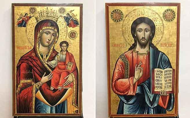 Οι εικόνες που είχαν κλαπεί από την Οξυά επιστρέφουν στην Ελλάδα.