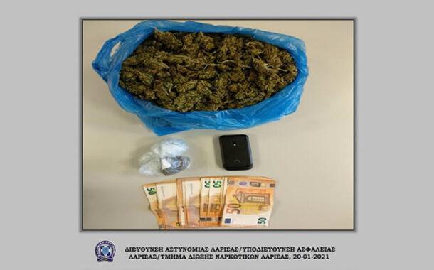 Συνελήφθη ημεδαπός στην ευρύτερη περιοχή της Καρδίτσας για παράβαση της νομοθεσίας περί ναρκωτικών