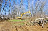 Εργασίες καθαρισμού του ποταμού Λείψιμου από την Π.Ε Καρδίτσας