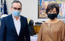 Εσπευσμένη συνάντηση Σκόνδρα - Κοντοζαμάνη για Προσλήψεις ιατρών στο ΓΝ Καρδίτσας