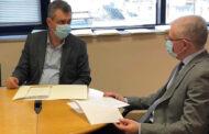 Συνάντηση Γ. Κωτσού με Α. Λυκουρέντζο για τις χαμηλές εκτιμήσεις των ζημιών του «Ιανού»!
