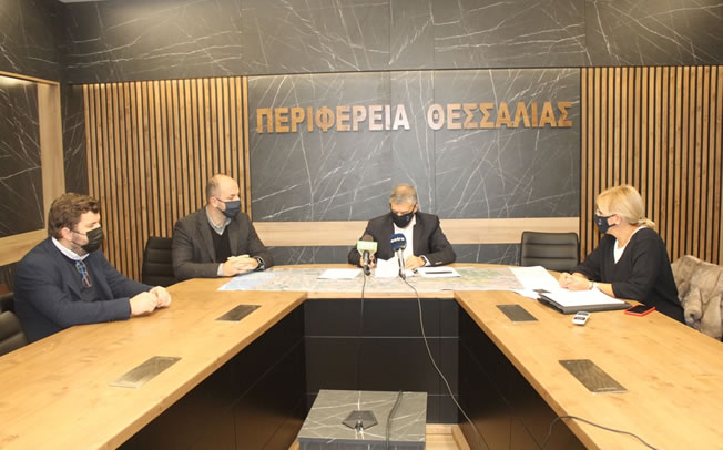 Υπογράφηκε η σύμβαση της μελέτης για τη βελτίωση της παλαιάς Εθνικής Οδού Λάρισας - Βόλου