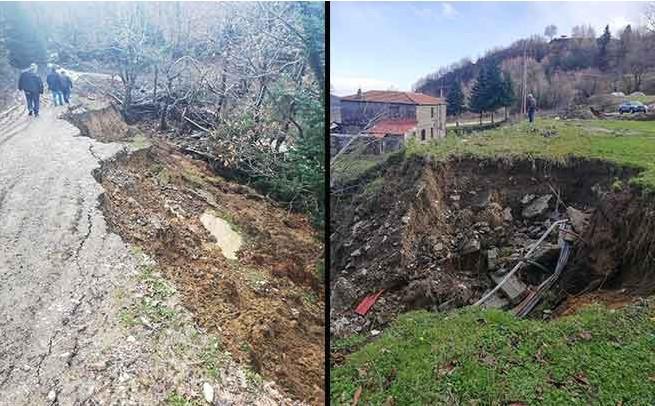 Μέρες «ΙΑΝΟΥ» στον Δήμο Πλαστήρα με νέες καταπτώσεις