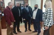 Συνάντηση Δημάρχου Πύλης Κ. Μαράβα με τον αναπληρωτή Υπουργό Εσωτερικών Σ. Πέτσα
